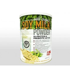 Earth Organic Hi-Protein Prebiotic Active SoyMilk Powder (750g)