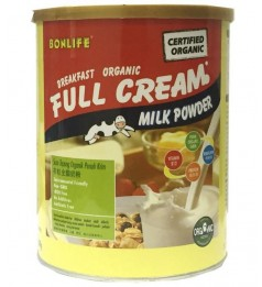 Bonlife Organic Full Cream Milk (800g) -Ready Stock