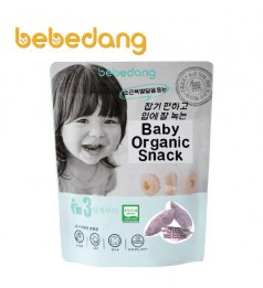 Bebedang Organic Brown Rice Snack- Purple Sweet Potato (30gm) Stage 3