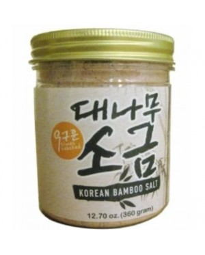 Earth Living Organic 9 Times roasted Korean Bamboo Salt 360G