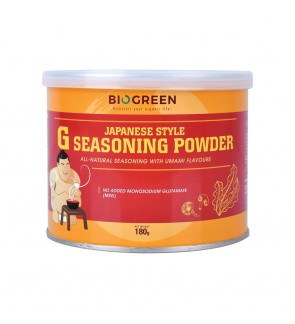 Biogreen G Seasoning Powder 180G