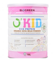 Biogreen O'Kid High Protein Organic Soya Milk Powder (700g)