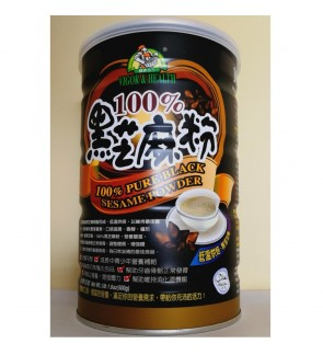 Organic Chateau 100% Pure Black Sesame Powder 有机厨坊100%黑芝麻粉