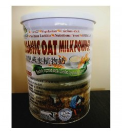 Organic Chateau-Organic Oat Milk Powder 有机厨坊高钙燕麦植物奶(罐) 850g