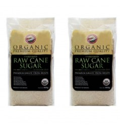 Twin Pack CF ORG RAW CANE SUGAR (900G*2) -Halal