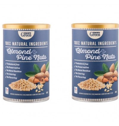 More Green  ALMOND & PINE NUTS