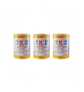 3x Biogreen O'Kid Oatmilk (850g)*3 (Halal)-New Stock, Expired 2020