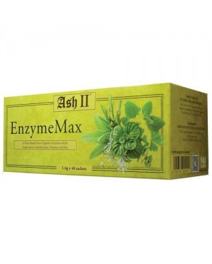 Ash Ii - Enzymemax - A Plant Based Active Digestive Enzymes Which Breaks Fats & Etc (3g*30 Sachets)