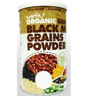 Earth Organic Black Multi Grains Powder-500g