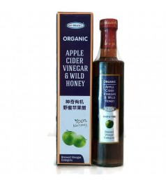 Miracle Apple Cider Vinegar & Wild Honey - 375ml (Single OR Buy 2 Free 1)