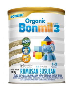 Organic Bonmil Step3-800g (New Stock)