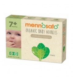 Mennosato Organic Spinach Baby Noodle (200G)