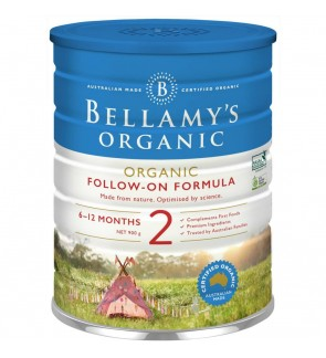 Bellamy´s Organic Follow-On Formula (Step 2)- Old and New packing are available