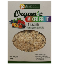 Health Paradise Organic Organic Mixed Fruits Muesli [400g]