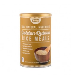 More Green GOLDEN QUINOA RICE MEALS (450G)