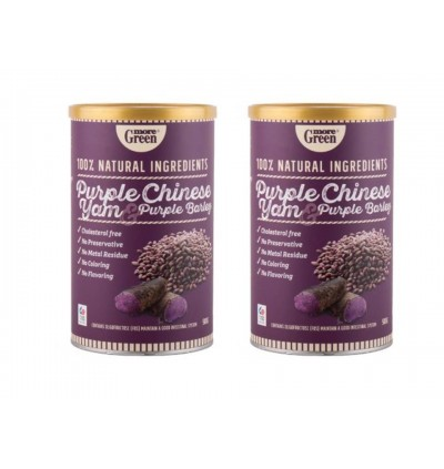 More Green PURPLE CHINESE YAM & PURPLE BARLEY (500g)