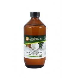 Health Paradise Certified Organic Cold Pressed Extra Virgin Coconut Oil - 500ml