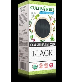 Cultivator's Organic Herbal Hair Color - Black