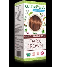 Cultivator's Organic Herbal Hair Color - Dark Brown