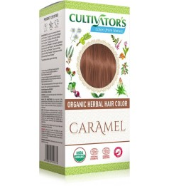 Cultivator's Organic Herbal Hair Color - Caramel
