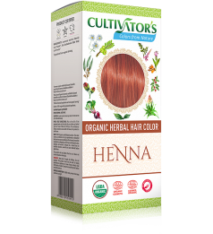 Cultivator's Organic Herbal Hair Color - Henna