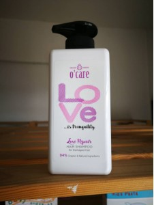 O'CARE Love Repair Hair Shampoo (Ideal for damage hair)- 500ML