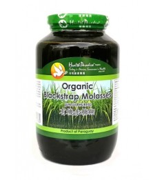 Health Paradise Organic Blackstrap Molasses 900gm Unsulphured, From Paraquay