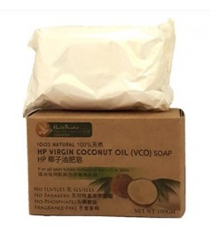 Health Paradise 100% Natural Virgin Coconut Oil ( VCO ) Soap 100gm