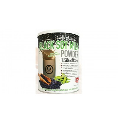 Earth Organic Soy Milk: Hi Protein 750g/ Red Date 750g/ Black Soy 800g/ Barley Sprout Matcha 700g