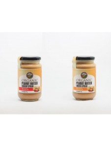 Country Farm Organic Peanut Butter - Crunchy/ Smooth  ^No Added Sugar ^ 375gm