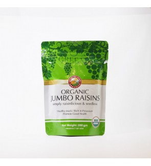 Country Farm Organic Dried Green Raisins (200g)