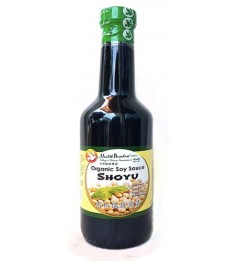 Health Paradise Organic Soy Sauce Shoyu ( Low Salt ) 315ml