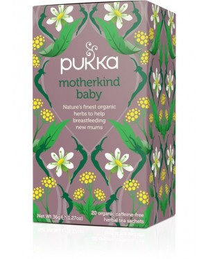 Pukka Motherkind Baby 20 Tea Bags 36g