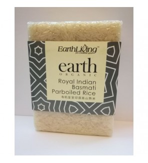 Earth Living Royal Indian Basmati Parboiled Rice 900G有机皇室印度高山熟米