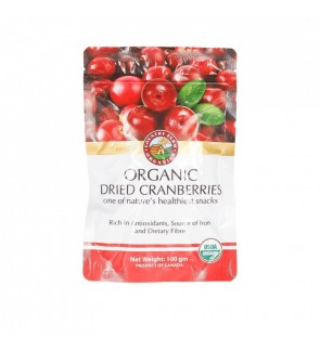 Country Farm Organic Dried Cranberries (100g)