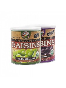 Country Farm Twinpack Green & Black Organic Seedless Raisins (300gx2)