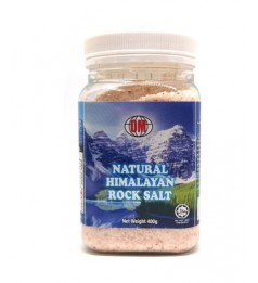 OM Natural Pink Himalaya Rock Salt Bottle 400gm