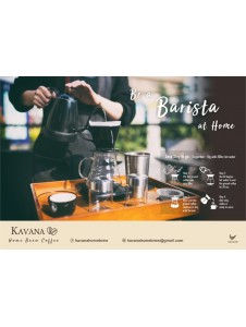 Kavana Home Brew Coffee - Ground Coffee OR Coffee Bean (250g) (Keto Diet Friendly)