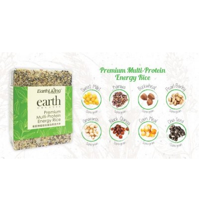Earth Living Premium Multi-Protein Energy Rice, 900G