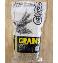 Earth Living Organic Oat Groats (500gm)