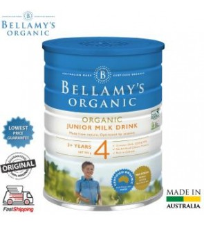 Bellamy´S Organic Step 4 Junior Milk Drink -Equinutri 900g
