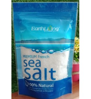 Earth Living Premium French Sea Salt (100% Natural) 250g
