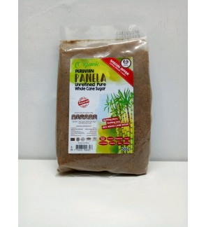 Earth Organic Organic Panela Unrefined Pure Whole Cane Sugar (500g)