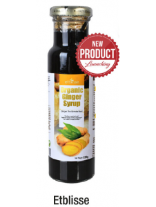 Etblisse Organic Ginger Syrup 230g