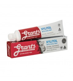 Grant's Xylitol with Cool Mint Toothpaste (110g)