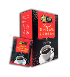 Sin Boon Kee ROYAL BLACK COFFEE Original (2 in 1) 新文记皇家顶级咖啡 - 原味 (含糖) [26g x 10 Sachets]