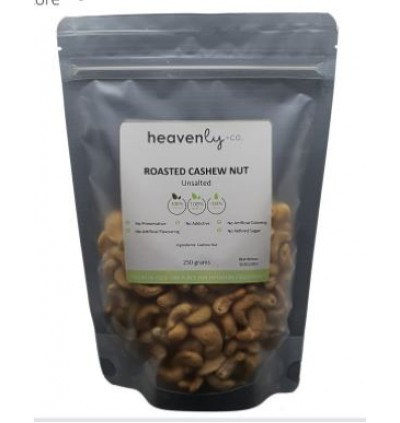 Premium Roasted Cashew Nut - Unsalted (Ready to eat) - 125 grams
