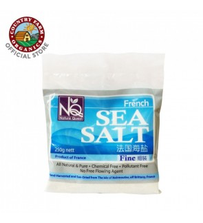Country Farm NQ French Sea Salt (Fine) 250g
