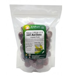 Health Paradise Natural 100% Red Dates (Jujube Fruit) 400gm Sulfer Free Premium Grade