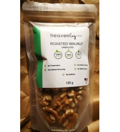 Roasted Walnut Halves 80% USA -125g